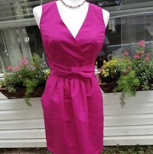 NWT Taylor Sleeveless Fuschia Dress Size 4